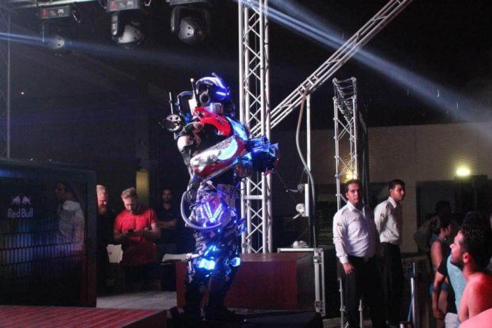 LED Robot Show