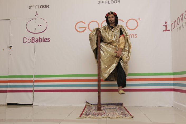 Live Statue in Dubai